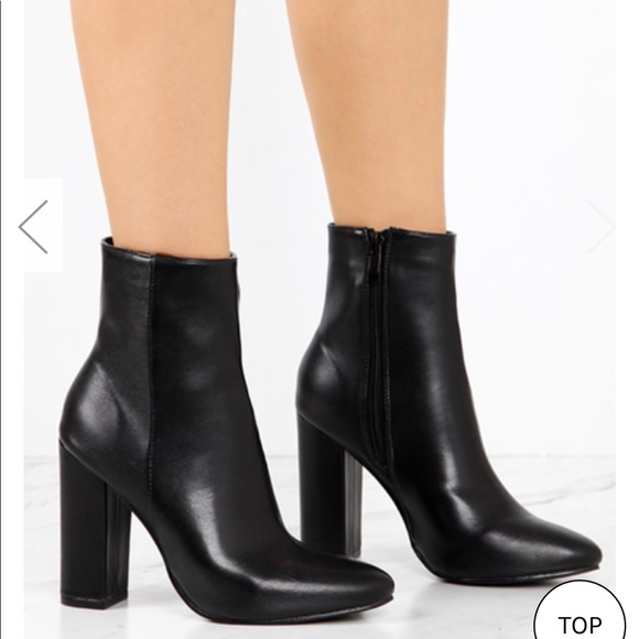 a0692fad14 Lola Shoetique Shoes | Lolashoetique Shein Moment Black Pu | Poshmark